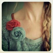Roos korenbloem