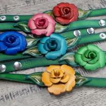 Plum Primrose Bracelet
